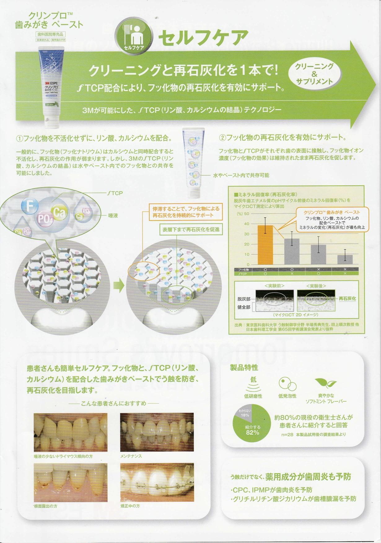 名古屋歯みがき道場 カルシウム、リン、フッ素が入った歯みがき粉が業界初登場!